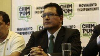 Félix Moreno pide que crimen de esposa de funcionario del Callao no se vincule con Odebrecht