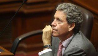 Congreso niega cuestión de confianza a ministro de Economía Alfredo Thorne