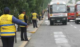 Centro de Lima: fiscalizador municipal es agredido mientras cumplía sus funciones