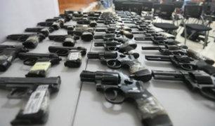 Incautarán más de 140 mil armas que no fueron internadas voluntariamente