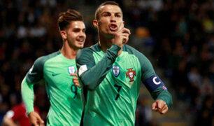 Portugal venció 1-0 a Rusia con gol de Cristiano Ronaldo