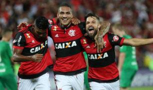 Paolo Guerrero anotó y Flamengo clasificó a la semifinal de la Copa de Brasil