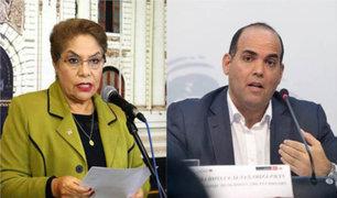 Luz Salgado deseó éxitos a Zavala frente al ministerio de Economía
