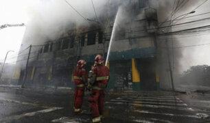 Ministerio Público inicia investigaciones por incendio en Las Malvinas