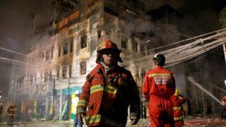 Las Malvinas: las penas que recibirían los responsables del incendio