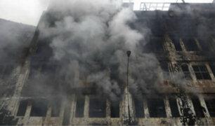 Reaparición de fuego en la madrugada activó las alarmas en galería Nicolini