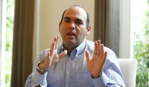 Fernando Zavala: Quiero estar unos meses en el MEF para reactivar la economía