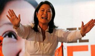 Keiko Fujimori niega conocer y haber recibido dinero de Marcelo Odebrecht