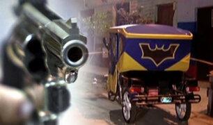 Comas: mototaxista es asesinado a balazos en velorio