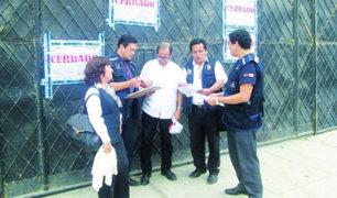 Lambayeque: clausuran almacén de medicinas de EsSalud en el distrito de La Victoria