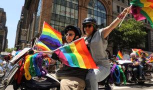 Se realizó marcha por Día del Orgullo Gay en diversas partes del mundo