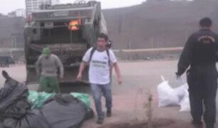 Hallan dos toneladas de basura en playas de Magdalena