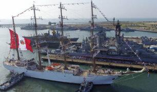 Callao: cientos visitaron impresionante buque peruano Escuela a Vela 'BAP UNIÓN'