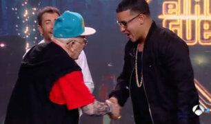 España: Daddy Yankee conoció a Daddy Melquíades