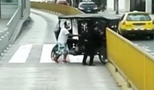 Barranco: mototaxis y motociclistas invaden vías del Metropolitano