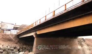 Callao: obra del viaducto Dueñas se ha convertido en un basural