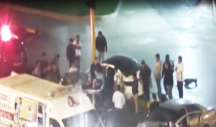 Trujillo: chofer en aparente estado de ebriedad impactó contra muro