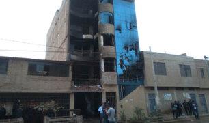 Chiclayo: incendio en edificio  provoca la muerte de siete personas