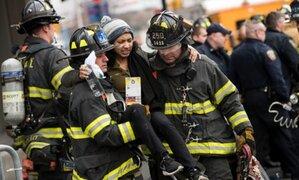 Descarrilamiento de tren en Nueva York deja al menos 34 personas heridas