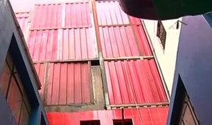 Centro de Lima: fiscalizadores clausuran almacenes peligrosos en el jirón Puno