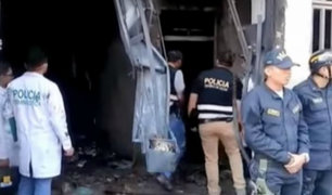 Chiclayo: madre y niño de 3 años se encuentran muy graves tras incendio en edificio