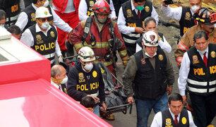 Las Malvinas: restos de las víctimas fueron trasladados a la Morgue Central de Lima