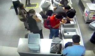 Aeropuerto Jorge Chávez: video muestra que reloj de oro no fue robado