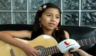 Perlita León cuenta su experiencia al tocar guitarra con Juan Diego Flórez