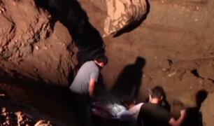 Cañete: dos trabajadores pierden la vida tras quedar sepultados en obra