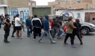 Huacho: vecinos intentan frustrar captura de delincuentes