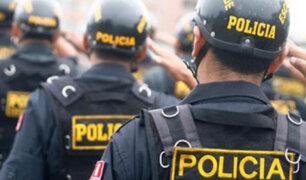 SMP: policía balea a sujeto que lo amenazaba con dos cuchillos