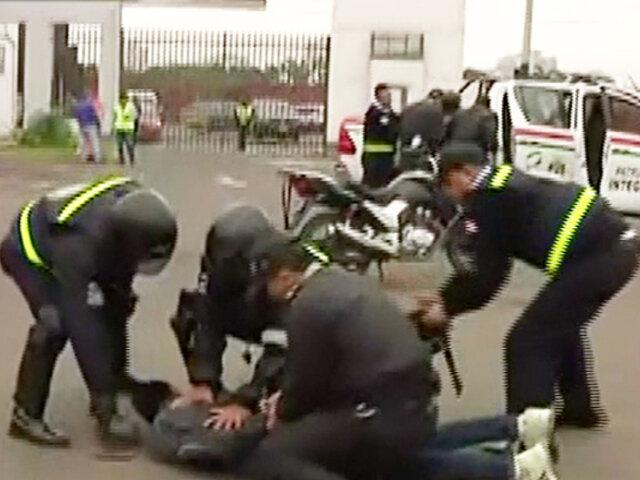 San Isidro: Alcalde solicita mayor número de policías para su distrito