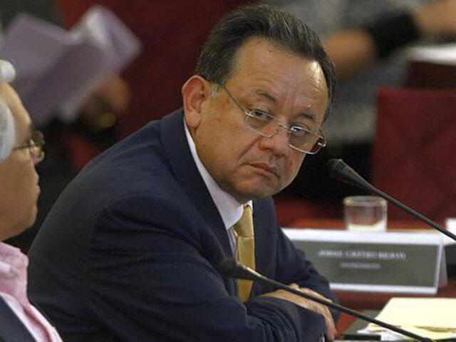 Reemplazan a Edgar Alarcón por Héctor Maquera en la Comisión de Fiscalización