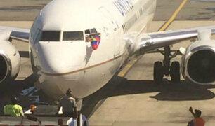 United Airlines y su emotiva despedida de Venezuela