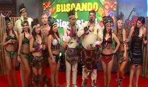 Integrantes de La Noche es Mía bailaron al ritmo del Siqui Siqui