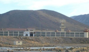 INPE: se restableció el orden en penal de Challapalca