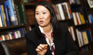 Keiko Fujimori se pronuncia sobre indulto por razones humanitarias a su padre