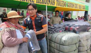 COEN: Gobiernos Regionales entregaron más de 11 mil frazadas a zonas afectadas