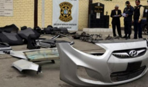 Policía recuperó 149 vehículos robados tras operativo en Lima e Ica
