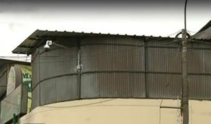 Mercado Santa Anita: construyen almacenes inseguros sobre puestos de comerciantes