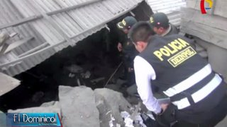 SJL: al menos dos heridos tras explosión en taller de artefactos pirotécnicos
