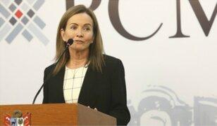 """""""Ejecutivo no programó algún cambio en el Gabinete"""", asegura ministra Martens"""