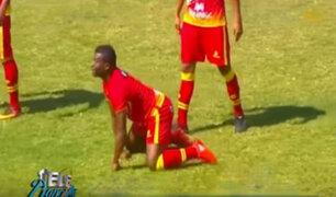 Sport Huancayo vs Alianza Atlético: curiosa celebración de los jugadores