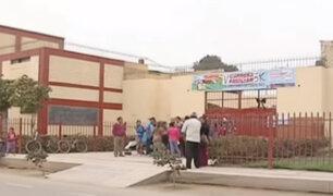 Abusan sexualmente de niño en colegio de Los Olivos