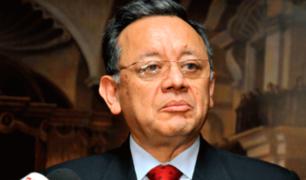 Reacciones en el Congreso tras remoción de Edgar Alarcón