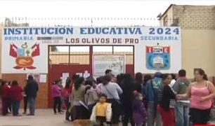 Los Olivos: examen descarta que niño fue violado sexualmente