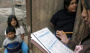 INEI realizará en octubre Censo Nacional después de 10 años