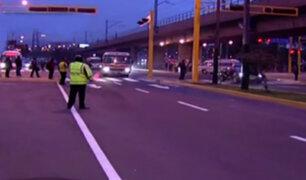 Surco: inauguran vía auxiliar de la avenida Tomás Marsano
