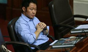 """Congresista Kenji Fujimori sobre proceso disciplinario: """"¡Soy inocente!"""""""
