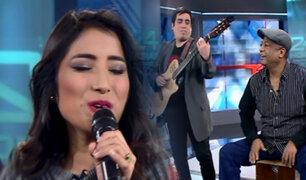 Cantante Pierina Caycho interpreta clásicos criollos en quechua
